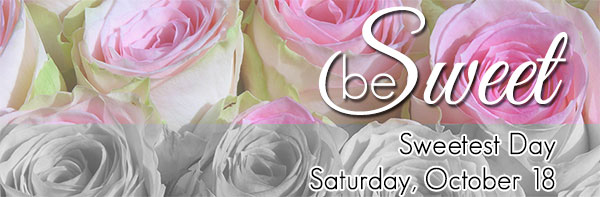 Sweetest Day is Saturday, October 16 - order flowers today!