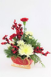 Sleigh Ride from Flowers by Ray and Sharon in Muskegon, MI