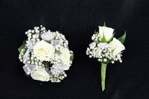 Corsage and Boutonniere #2 from Flowers by Ray and Sharon in Muskegon, MI