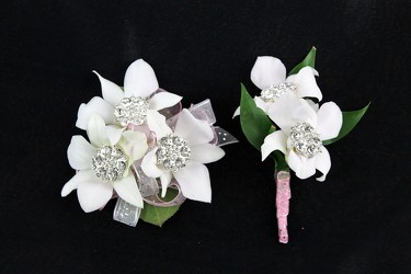 Corsage and Boutonniere #3 from Flowers by Ray and Sharon in Muskegon, MI