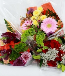 Wrapped Bouquets - Large