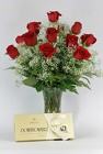 Dozen Roses and Chocolates from Flowers by Ray and Sharon in Muskegon, MI