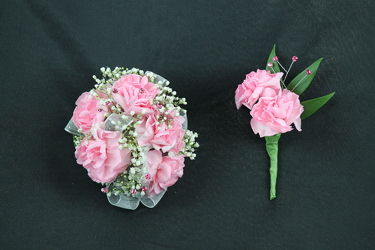 Corsage and Boutonniere #6 from Flowers by Ray and Sharon in Muskegon, MI