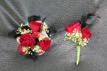 Corsage and Boutonniere #7 from Flowers by Ray and Sharon in Muskegon, MI