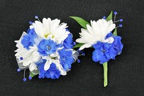 Corsage and Boutonniere #5 from Flowers by Ray and Sharon in Muskegon, MI