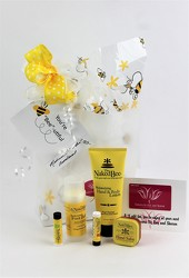 Naked Bee Lotions Gift Bag